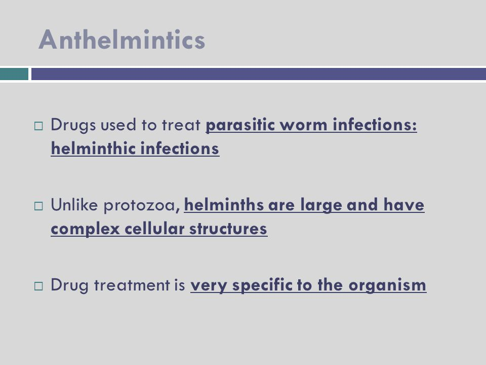 anthelmintic drugs pharmacology ppt cancer uterin cauze si simptome