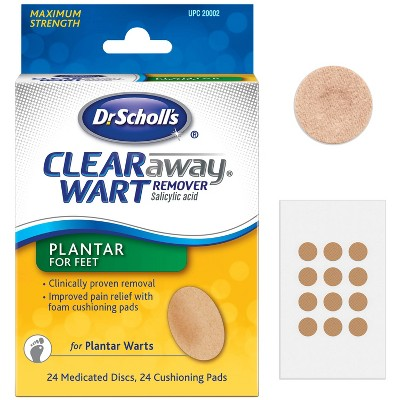 wart treatment target